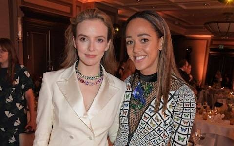 Killing Eve's Jodie Comer tells childhood friend Katarina Johnson-Thompson to soak up her success