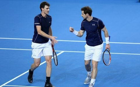 Andy Murray to play doubles with brother Jamie at Washington's Citi Open