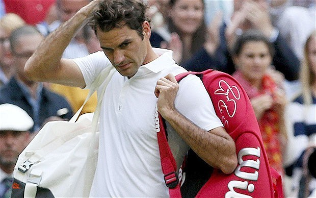 Roger Federer plans to play on 'years to come' after Wimbledon defeat to Sergiy Stakhovsky