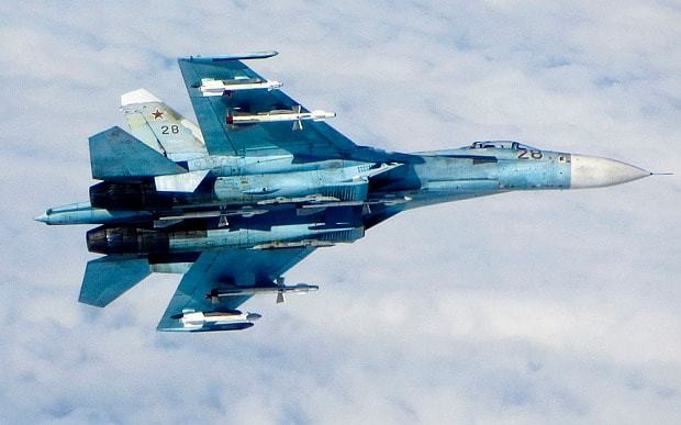 Russian fighter jet flies within 10ft of US plane