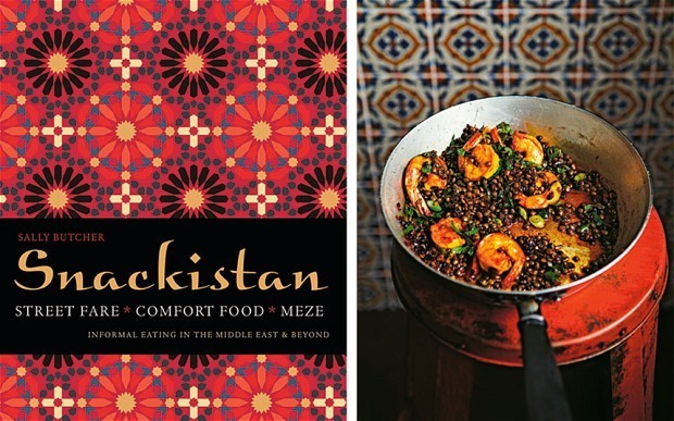 Cookbook of the week: Snackistan by Sally Butcher