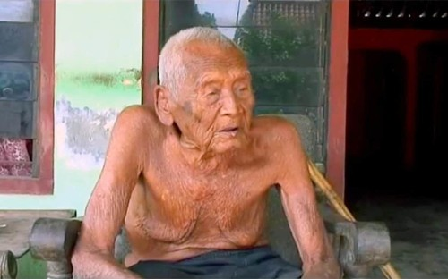'Longest living human' says he is ready for death at 145