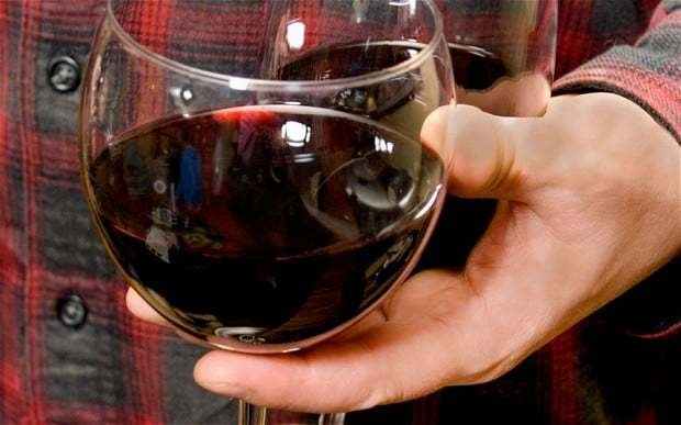 Revealed: How to lose weight - drink plenty of red wine