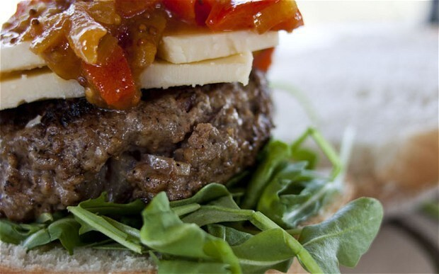 Easy-peasy burgers