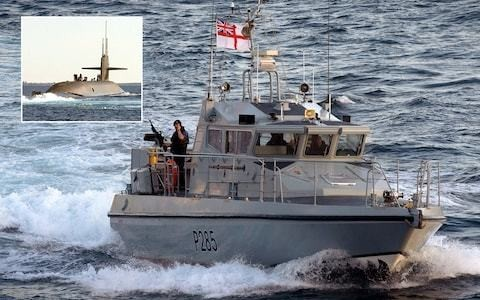 Royal Navy fires warning shots as Spanish vessel harasses US sub in Gibraltar