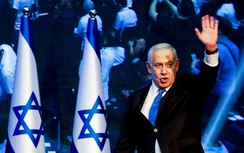Netanyahu won election after election because he gave Israelis security. He is a winner no longer