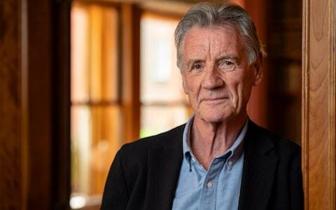 Michael Palin: 'I'm as happy at 75 as I was on my 30th birthday'