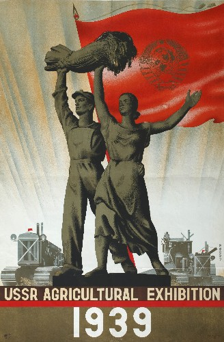 The vintage posters that lured travellers to Stalin's Soviet Union