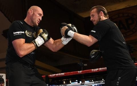 Tyson Fury and trainer Ben Davison part ways as Javan Hill takes over for Deontay Wilder re-match
