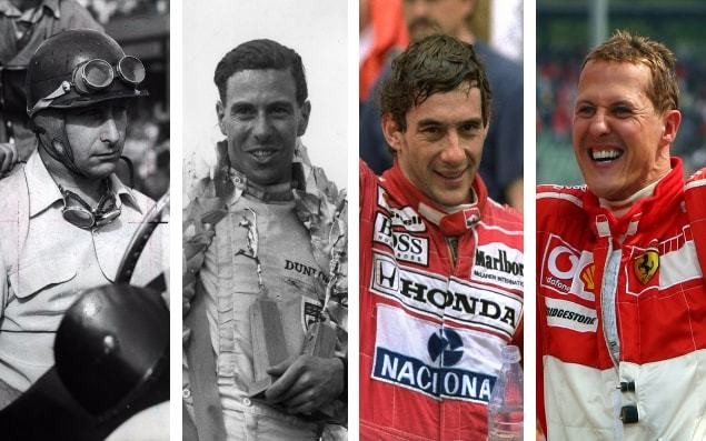 F1 champions: Every winner of the Formula One drivers' title since 1950