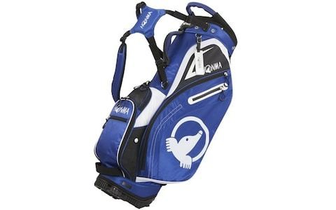 Enter the prize draw to win a Honma golf bag signed by Justin Rose