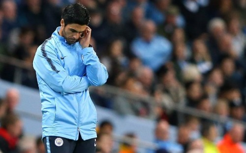 Mikel Arteta: Manchester City paid the price for mistakes in defeat to Lyon