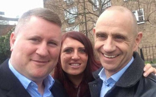 Evan Davis forced to issue response to 'ridiculous' claims over Britain First photo