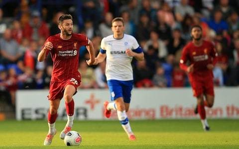 Adam Lallana deployed in 'Jorginho' role as Jurgen Klopp looks to create more options for Liverpool