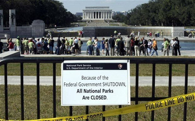US debt: 'Your shutdown is not an 'epic battle', it is bad governance'