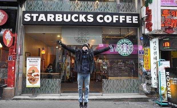 Ultimate coffee fan spends 17 years visiting every Starbucks in the world