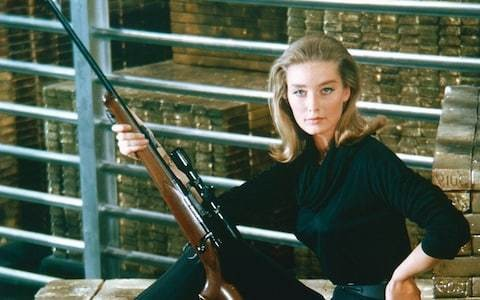 Goldfinger actress Tania Mallet dies aged 77