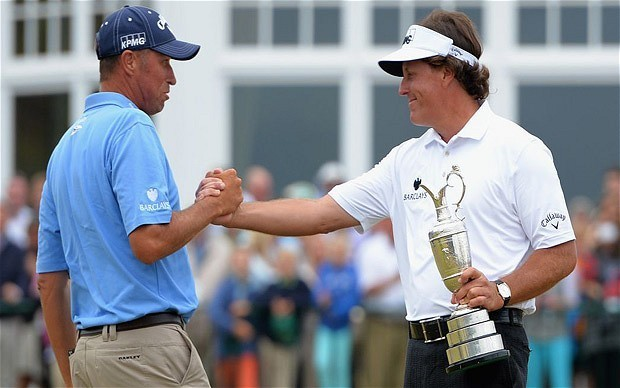 The Open 2013: Phil Mickelson has eye on grand slam after 'best ever round' wins him the title