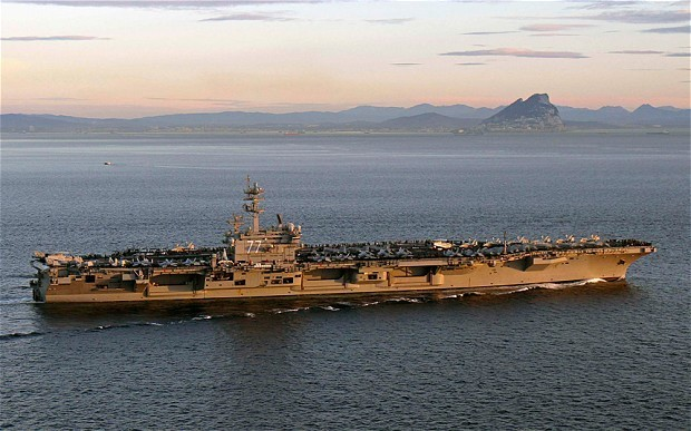 Iraq crisis: US sends aircraft carrier to the Gulf
