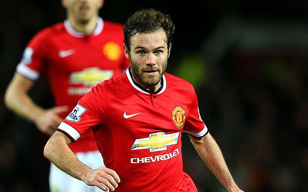 Manchester United must win almost every remaining game to qualify for Champions League, says Juan Mata
