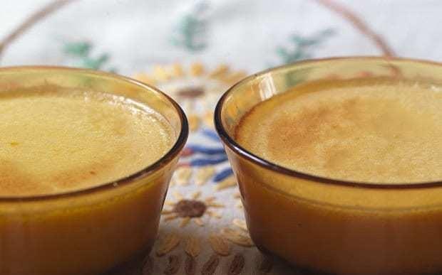 Crème caramel with smoked salt recipe