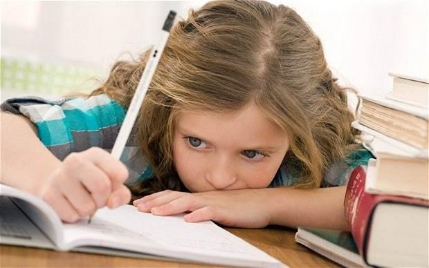 'Having homework as a child didn't hurt me one bit'