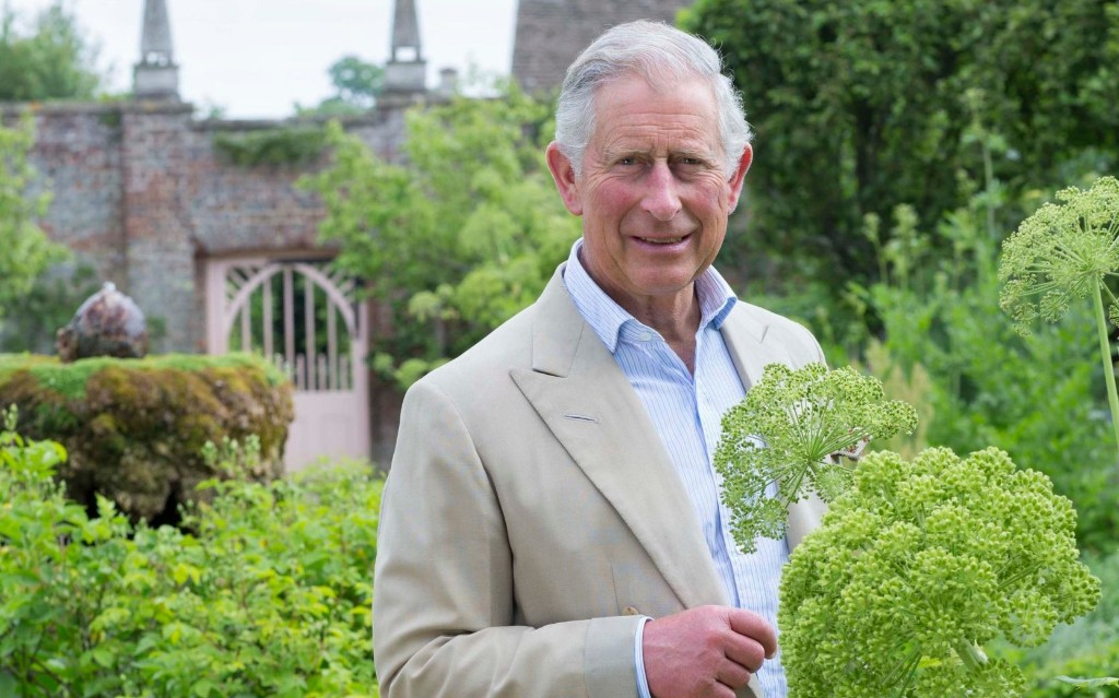 Prince Charles: Gardens are needed more than ever in Britain 'beset by anxiety'