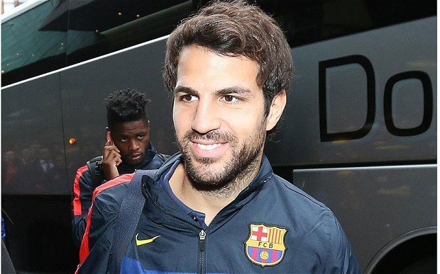 Manchester United still confident of signing Cesc Fabregas from Barcelona