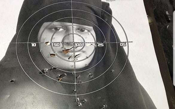 Shooting range criticised after putting up target with face of Shamima Begum
