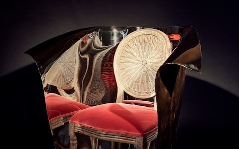 Introducing the £18,000 chair, created by industrial designer Ron Arad and homeware brand OKA for PAD London