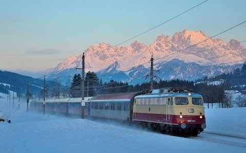 Climate change could kill the ski industry – so take the train to the Alps this winter