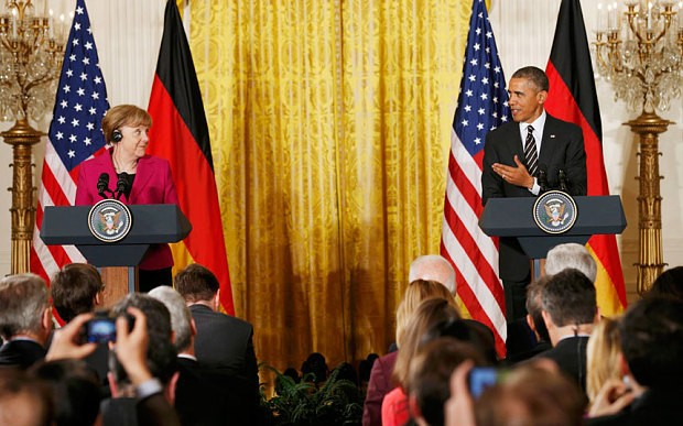 Obama needs to know that Merkel won't go weak on Ukraine