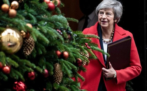 May under fire over £50,000 ads on social media to promote Brexit deal