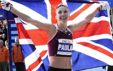Paula Radcliffe urges asthma sufferers to race to get themselves vaccinated against flu