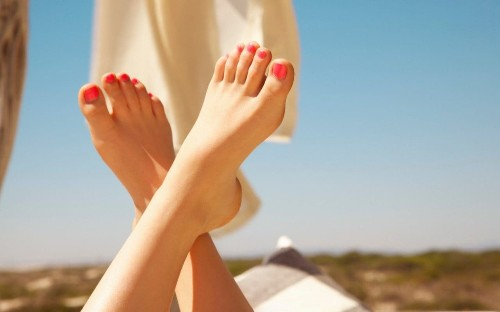 10 steps to perfect feet