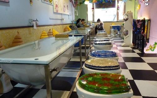 The world's oddest restaurants and cafes