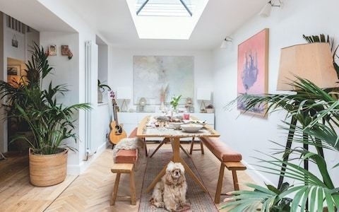 How one couple transformed a period cottage into a bright modern space