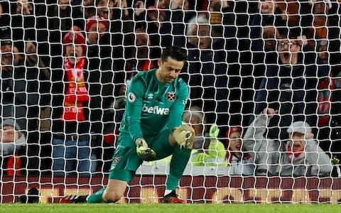 West Ham give Liverpool a fright but Lukasz Fabianski errors deny David Moyes at Anfield yet again
