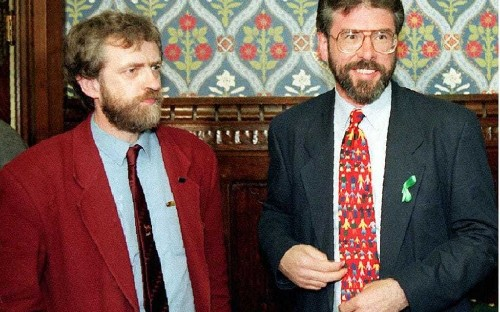 Jeremy Corbyn's Bloody Sunday stance is finally bringing his IRA links under suspicion