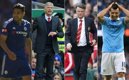 How Arsenal, Chelsea, Man Utd and Man City became lazy and complacent