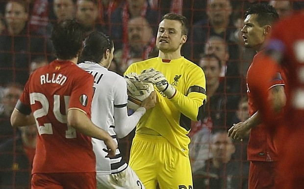Liverpool vs Bordeaux: Christian Benteke saves Simon Mignolet's blushes after keeper's howler