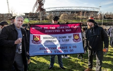West Ham owners face prospect of more protests from disgruntled fans
