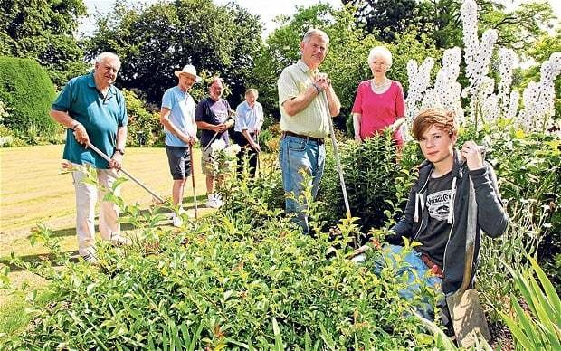 Open gardens: a gate into the souls of villages