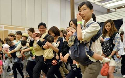 Japanese couple apologise for ignoring work pregnancy timetable by conceiving 'before their turn'
