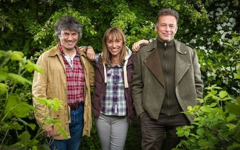 Axed Springwatch presenter Martin Hughes-Games: white, middle-aged men an endangered species on TV