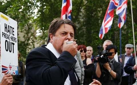 Facebook bans 'dangerous' far-right leaders and groups including Nick Griffin, Britain First and EFL