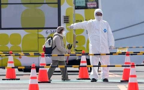 Coronavirus latest news: British passengers left in limbo over Diamond Princess evacuation