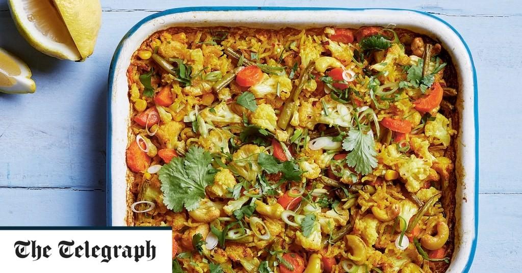 All-in-one vegan biryani recipe