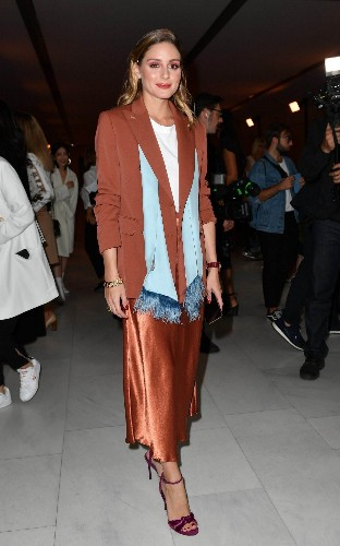 Milan Fashion Week: Olivia Palermo and Ellie Goulding take to the front row