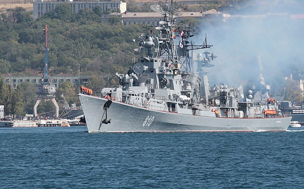 Russian warship fires warning shots at Turkish vessel amid Syria tensions